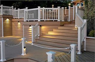 Decking materials low maintenance decking materials for Low maintenance decking