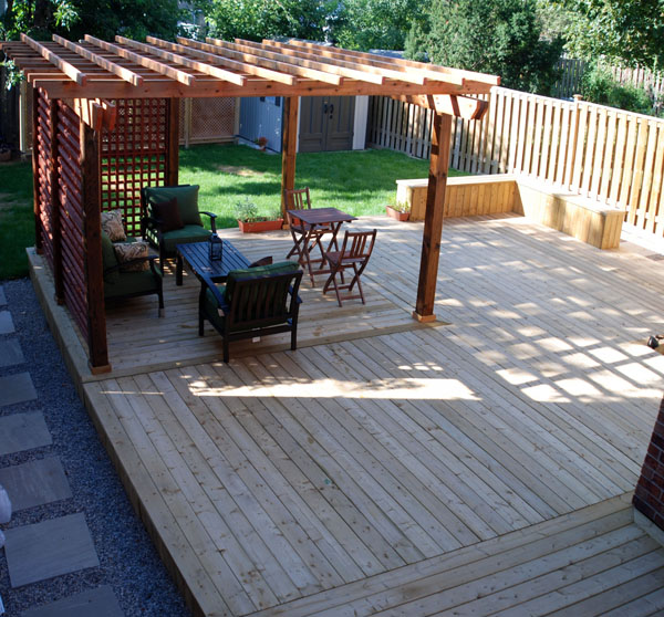 Woodwork diy wood deck pdf plans for What is the best wood for decking