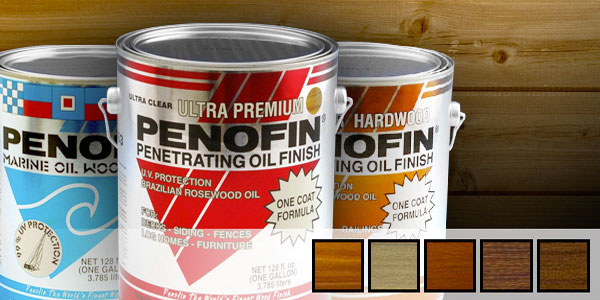 Penofin Wood Finish: Good Enough For a Horse