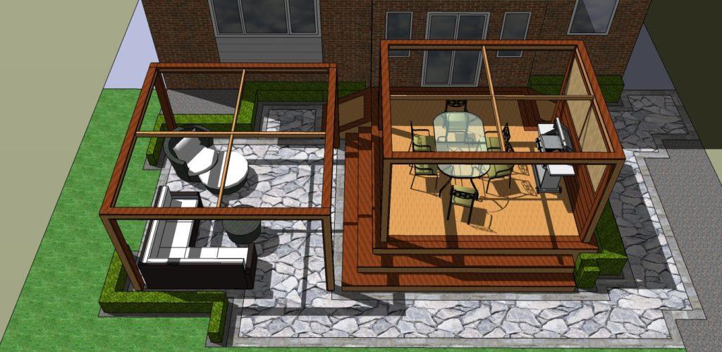 Deck Store 3D Design