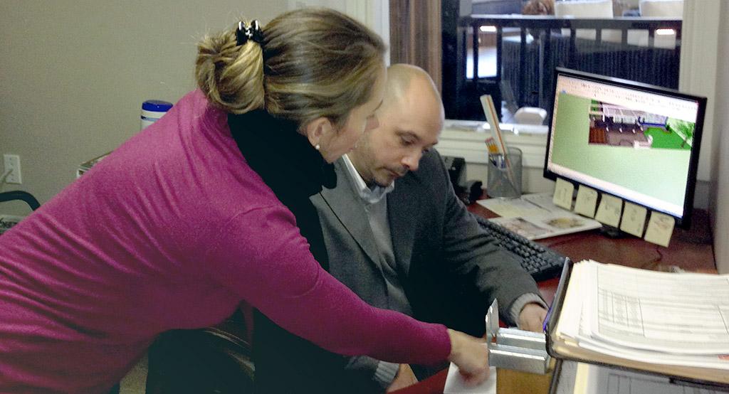 Robert Hodichak and Megan Willekes