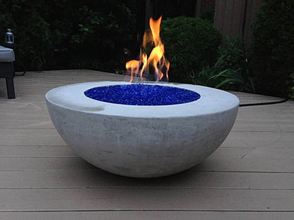 Lava Fire Table bowl