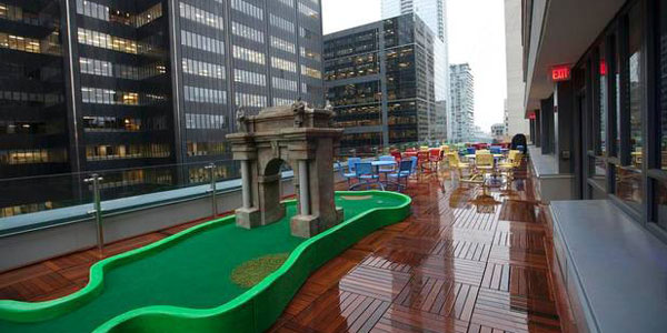 Google pioneers a whole new office in Toronto. With the deck built by The Deck Store.