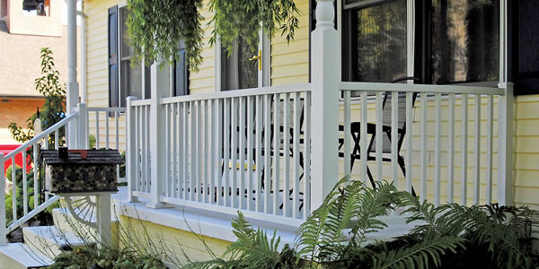 Ultra aluminum railing fencing avalablle at the deck store