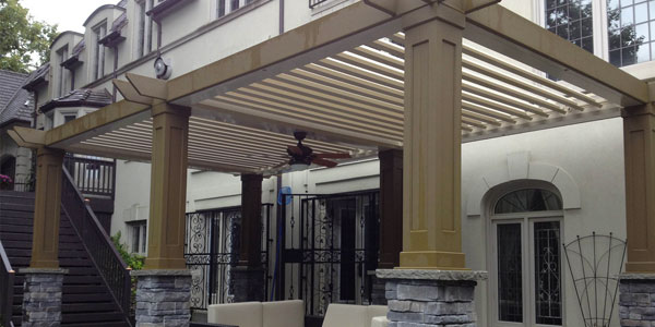 Excerpt Adjustable Patio Cover