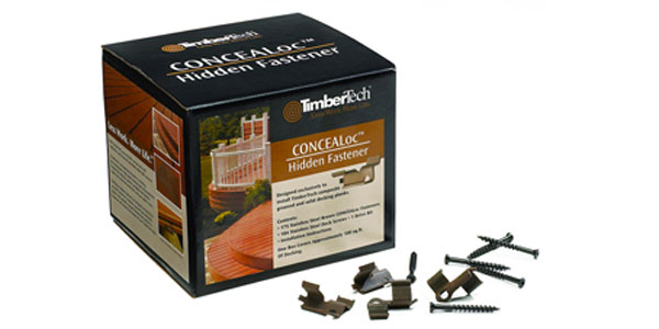 New TimberTech Cortex Hidden Fastening System