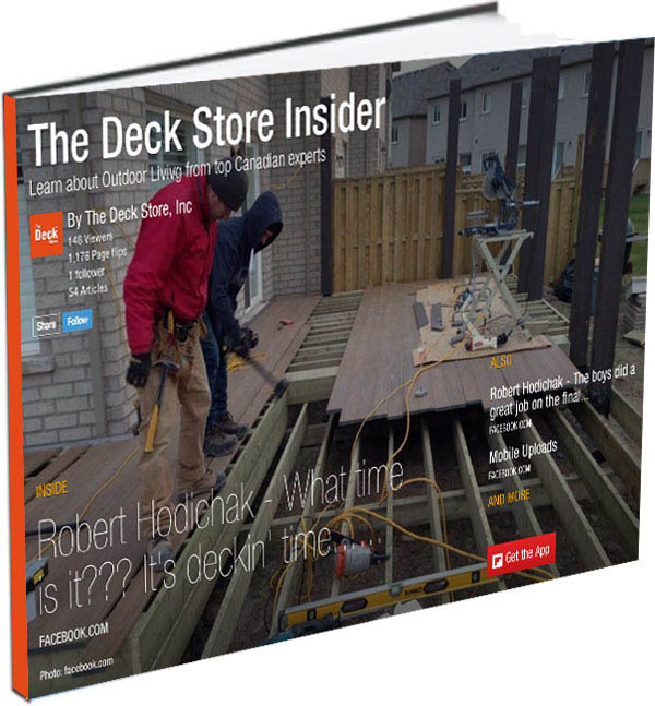 The Deck Store Insider