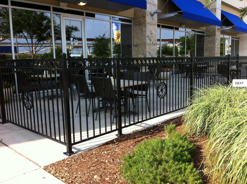 FE26 Plus Iron Railing