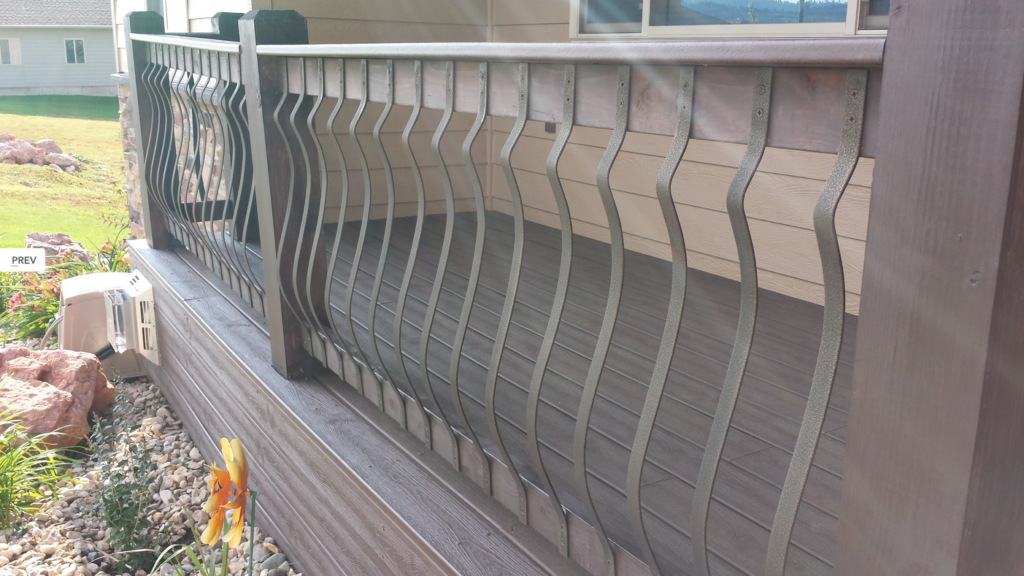 railing baluster