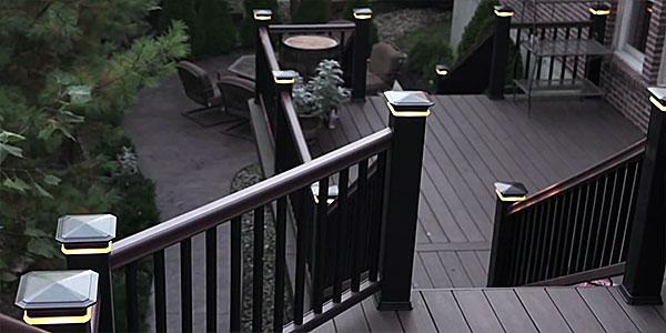 Azek Sheds Light on Deck and Railing Lighting