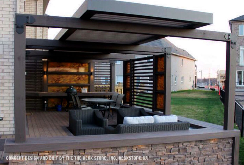 Concept design and buit by the The Deck Store, Inc, deckstore.ca