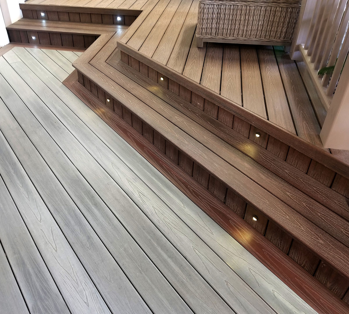 Contact building materials sales industry leading design for Decking material options