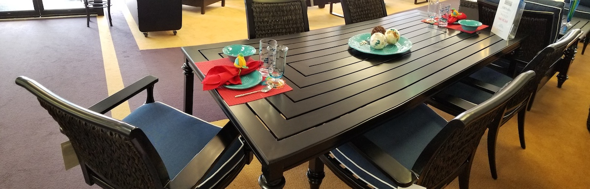 Mississauga Showroom Patio Furniture
