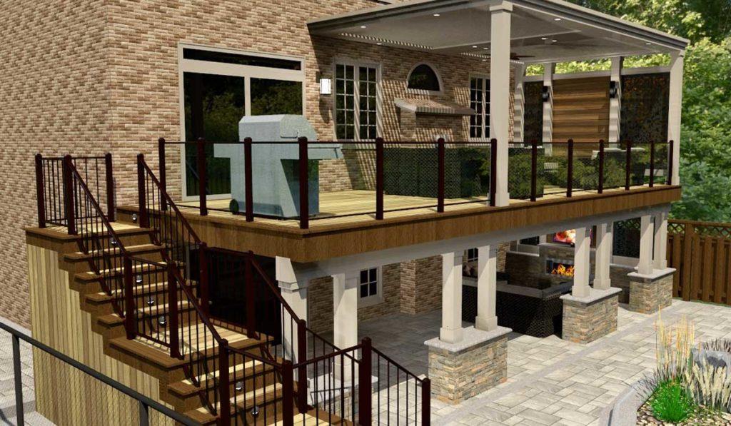 3D Deck Design Ideas